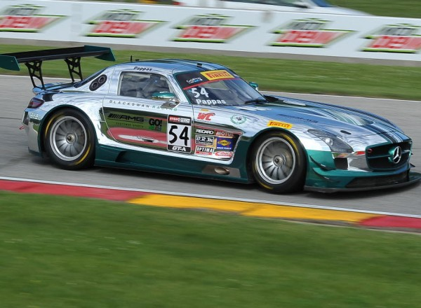 Tim Pappas in the Mercedes AMG SLS GT  [John Wiedemann Photo]