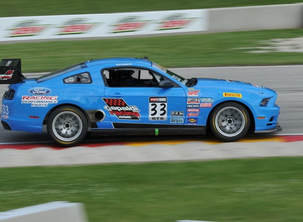 Tony Buffomante in the Capaldi Racing Ford Racing Ford Mustang Boss 302S  [John Wiedemann Photo]