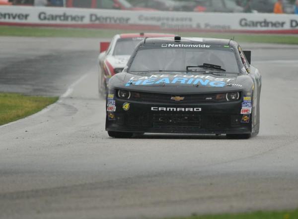 Jeffrey Earnhardt races into turn nine at Road America.  [John Wiedemann Photo]