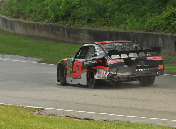 Jeremy Clements scored his best ever result in the Nationwide Series, finishing 6th.  [John Wiedemann photo]
