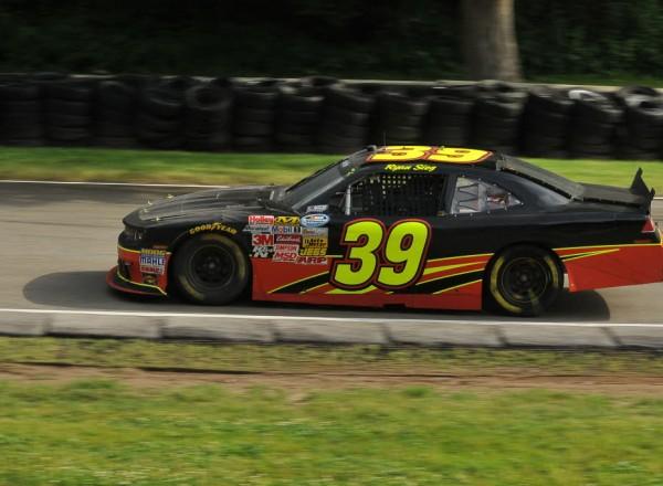 Ryan Sieg races his Chevrolet at Road America.  [John Wiedemann Photo]
