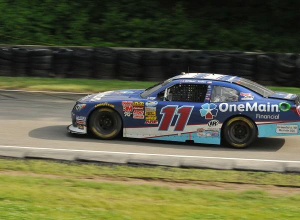 Elliott Sadler races out of Canada Corner at Road America.  [John Wiedemann Photo]