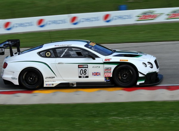 Butch Leitzinger races into turn seven at Road America.  [John Wiedemann Photo]