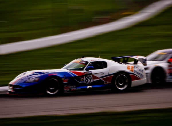 The Dodge Viper Coupe raced by Ontario's Fred Roberts at Mid Ohio.  [Andy Clary Photo]