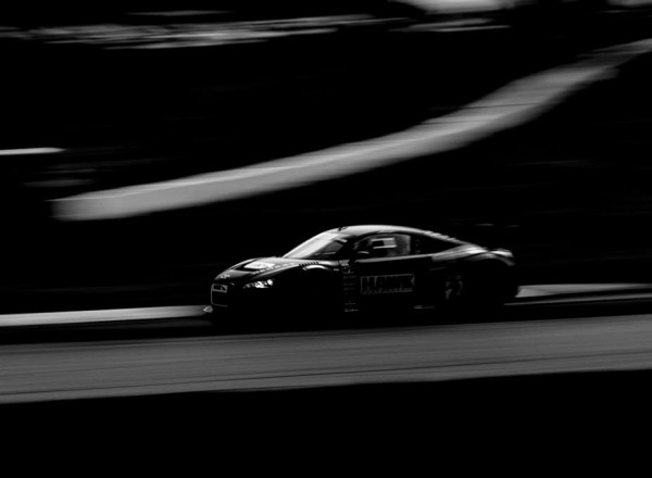 The HAWK Audi runs in Round 11 of the Pirelli World Challenge.  [Andy Clary Photo]