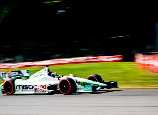 Sebastien Bourdais at speed.  [Andy Clary Photo]