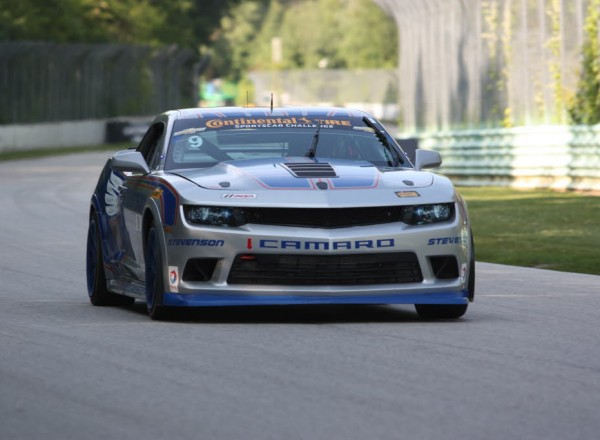 Andy Lally and Matt Bell will start third at Road America in their Camaro Z/28.R.  [Mark Walczak Photo]
