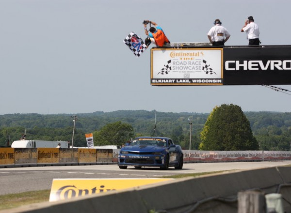 Lawson Aschenbach takes the victory at Road America.  [Mark Walczak Photo]