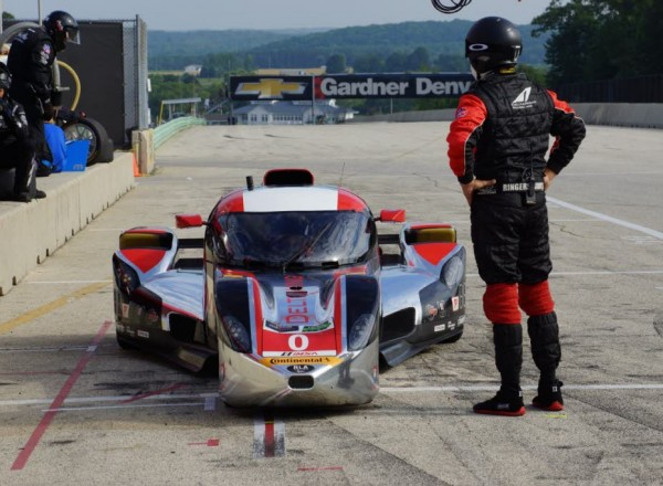 The radical Deltawing Coupe will be in Austin, racing in the TUDOR race.  [Photo by Jack Webster]