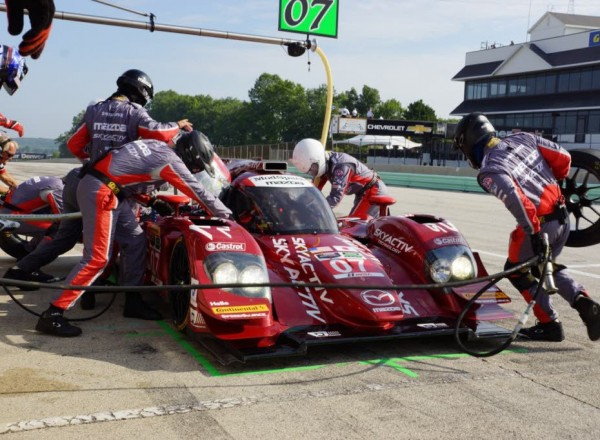 Mazda will be in Austin for the TUDOR race with their Skyactiv Diesel prototype.  [Photo by Jack Webster]