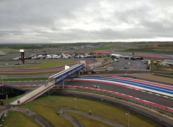 An overview of the incredible facility at the Circuit of the Americas.  [Photo by Jack Webster]