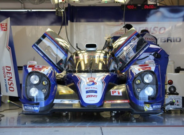 The Toyota Hybrid will be racing in the FIA-WEC race.  [Photo by Jack Webster]