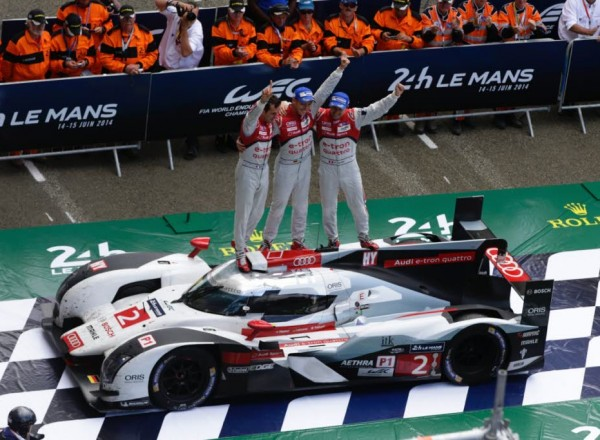 Don't miss your only opportunity to see this year's Le Mans winning squad in Austin.  [Photo by Audi Motorsport]