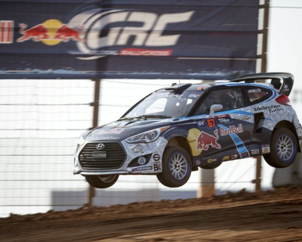 Rhys Millen broke through with Hyundai to win at the Daytona International Speedway.  [credit Larry Chen/Red Bull Content Pool]