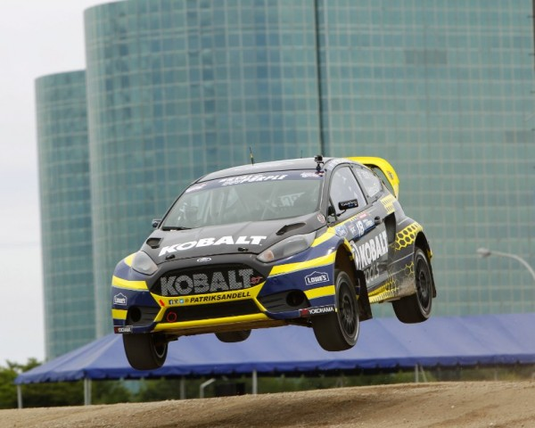 Olsbergs MSE driver Patrik Sandell was victorious in Washington DC.  [credit Alison Padron/Red Bull Content Pool]