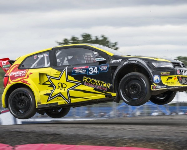 Andretti Autosport's Tanner Foust won the New York GRC event.  [credit Garth Milan/Red Bull Content Pool]