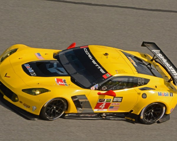 Simon Pagenaud driving a Corvette C7.R in Rolex24.  [Joe Jennings Photo]