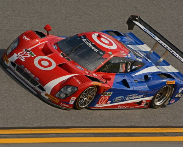 No. 02 Chip Ganassi Racing Ford EcoBoost shown at speed.  [Joe Jennings Photo]