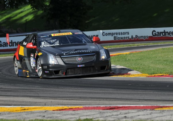 Johnny O'Connell at Road America in 2014.  [John Wiedemann Photo]