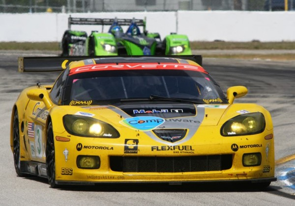 Johnny O'Connell at Sebring.  [Photo by Jack Webster]