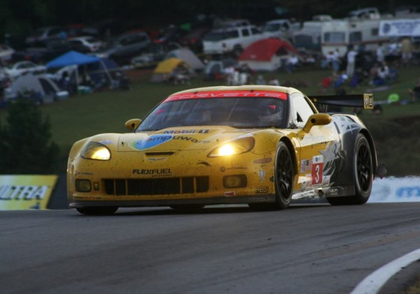 Johnny O'Connell at Petit Le Mans.  [Photo by Jack Webster]