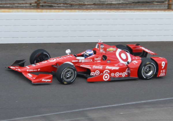 Scott Dixon was the second fastest at the Speedway on Monday.  [Russ Lake Photo]