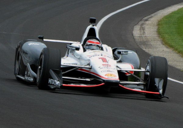 Will Power tours the Speedway on Thursday.  [Russ Lake Photo]