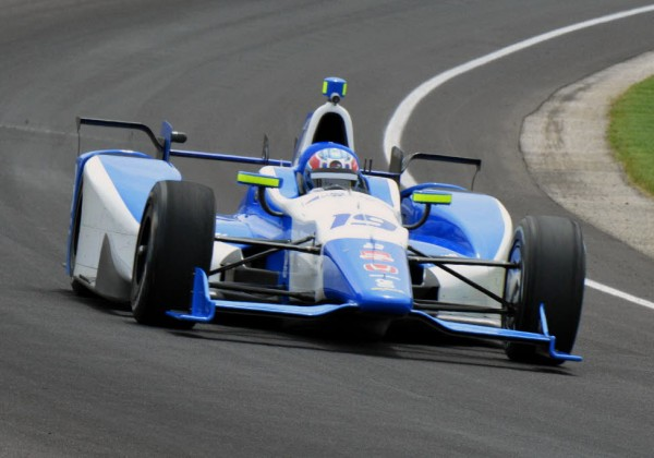 Tristan Vautier runs through turn 3 at IMS.  [Russ Lake Photo]