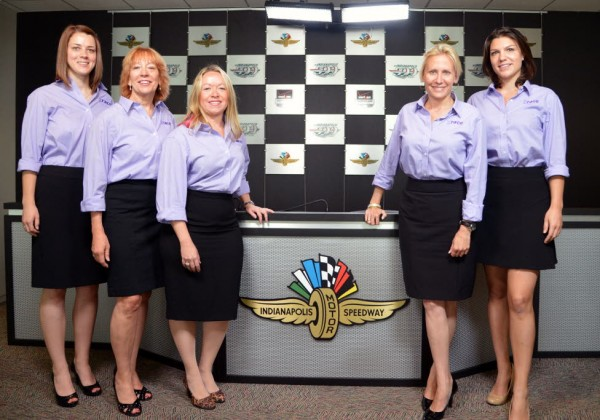 The women of GRACE Autosport.  [Russ Lake Photo]