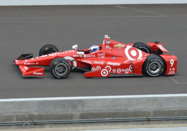 Scott Dixon wins the pole for the 99th Indianapolis 500.  [Russ Lake Photo]
