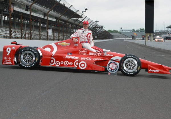 Scott Dixon.  Pole winner for the 2015 Indianapolis 500.  [Russ Lake Photo]