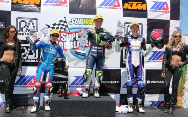 Cameron Beaubier wins Superbike race 1.