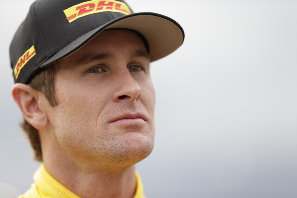 Ryan Hunter-Reay and his Andretti Autosport teammates are looking for return to success at Iowa Speedway this weekend. [Photo by: Shawn Gritzmacher]