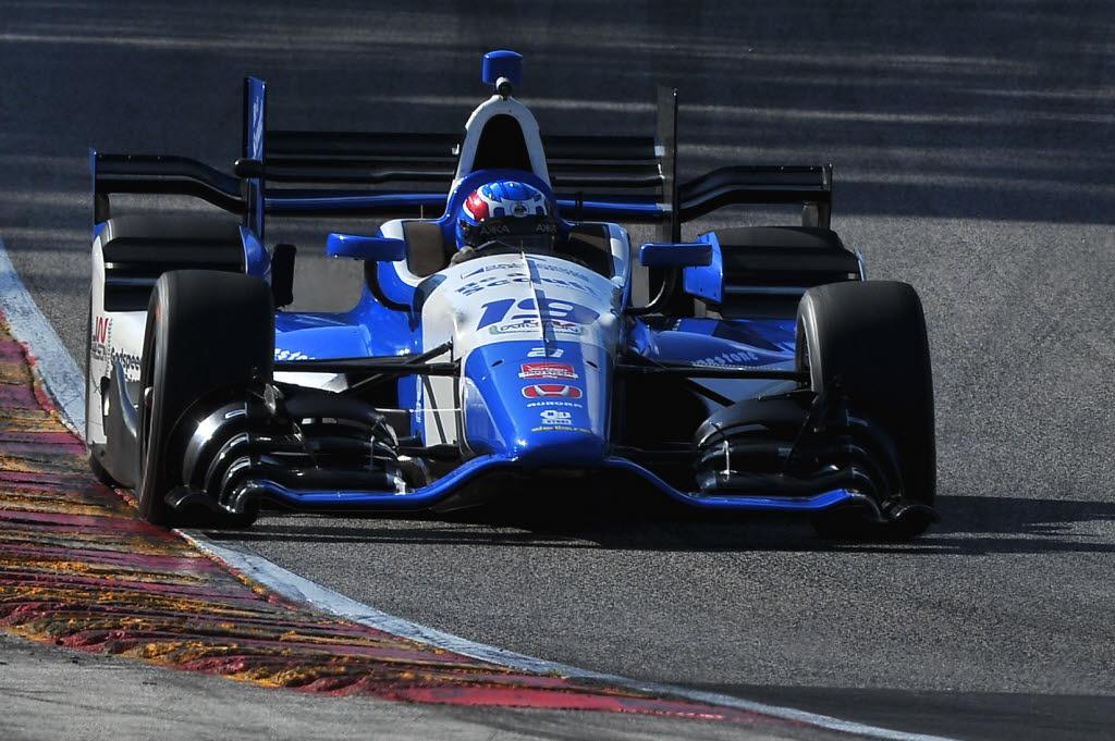 Tristan Vautier speeds into turn five at Road America. [John Wiedemann Photo]