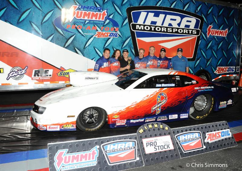 >Southern Nationals winner John Montecalvo [Chris Simmons/IHRA Photo]
