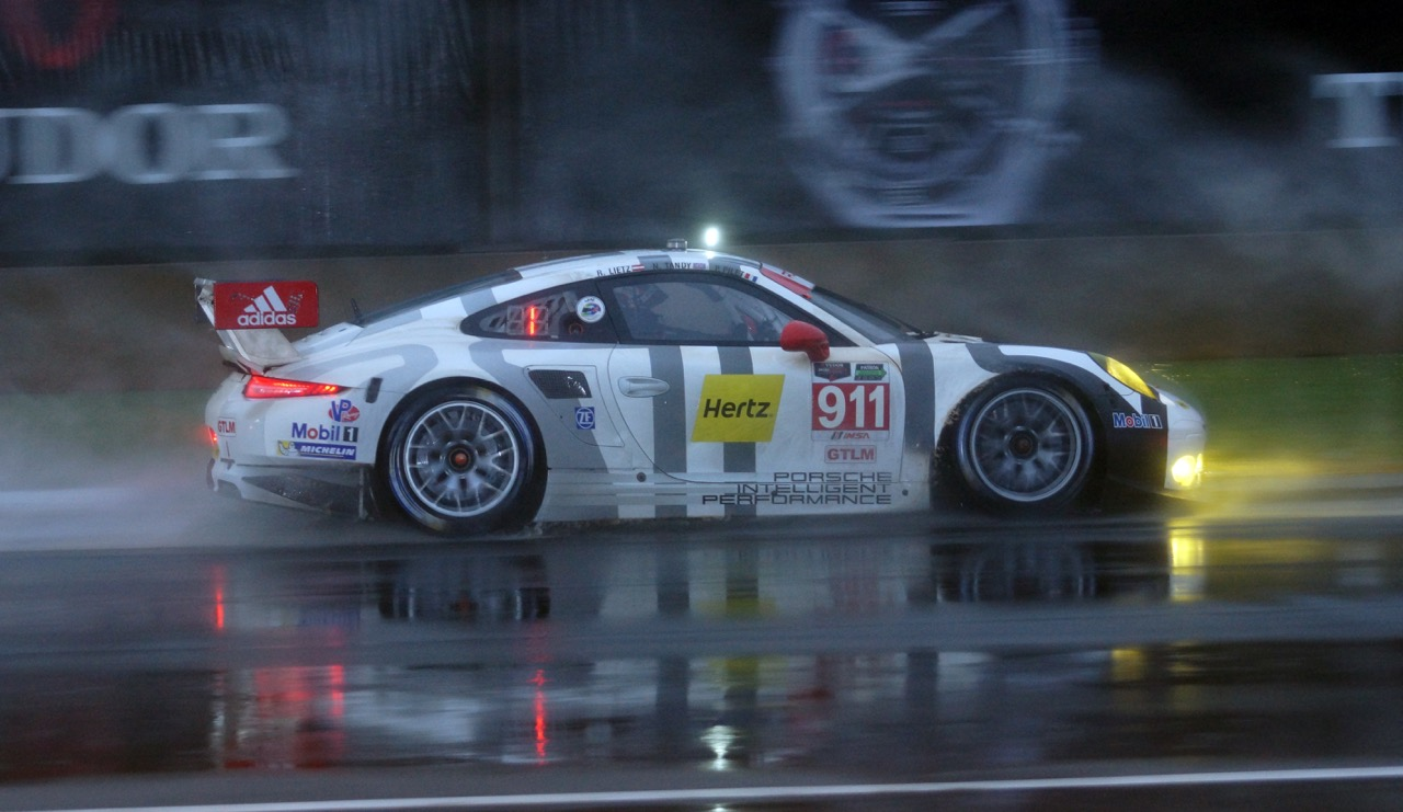 Overall and GTLM Class winning Porsche 911 RSR. [Photo by Jack Webster]