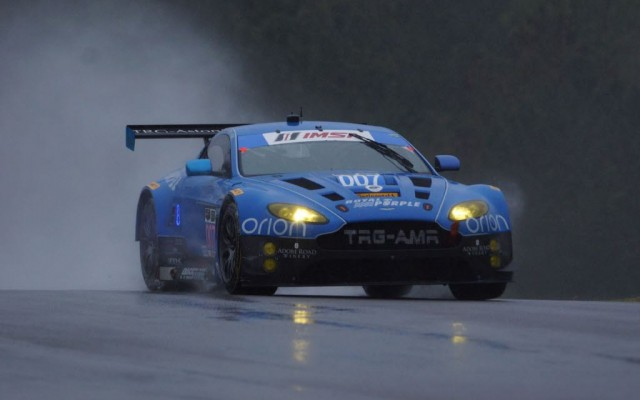 Aston Martin.  [Jack Webster Photo]
