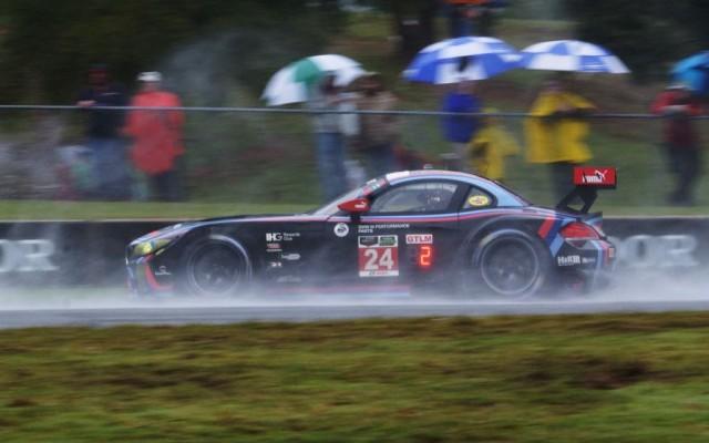 BMW at speed.  [Jack Webster Photo]