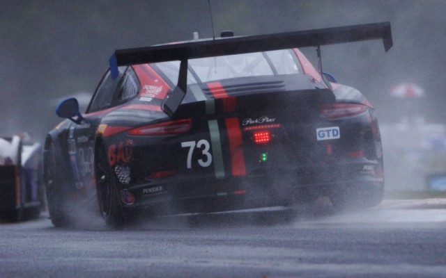 Winning GTD Porsche.  [Jack Webster Photo]
