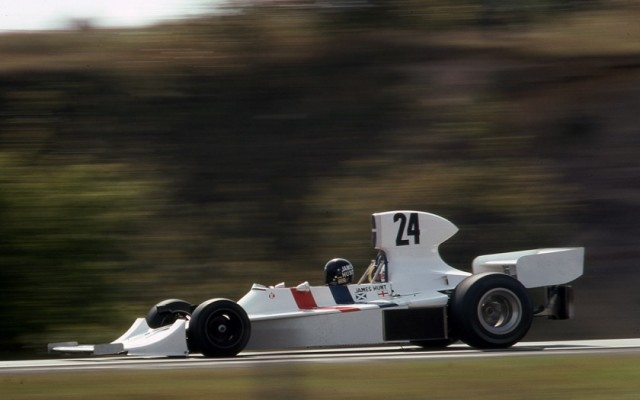 James Hunt, Hesketh, Canadian Grand Prix 1974.  [Photo by Jack Webster]