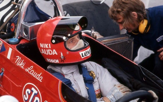 Niki Lauda, Canadian Grand Prix 1972.  [Photo by Jack Webster]