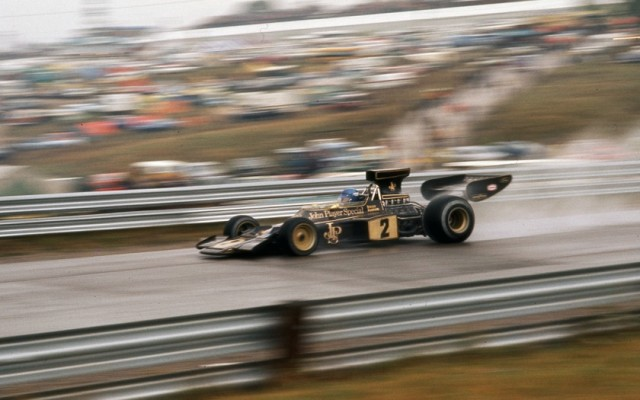 Ronnie Peterson, Canadian Grand Prix 1974.  [Photo by Jack Webster]