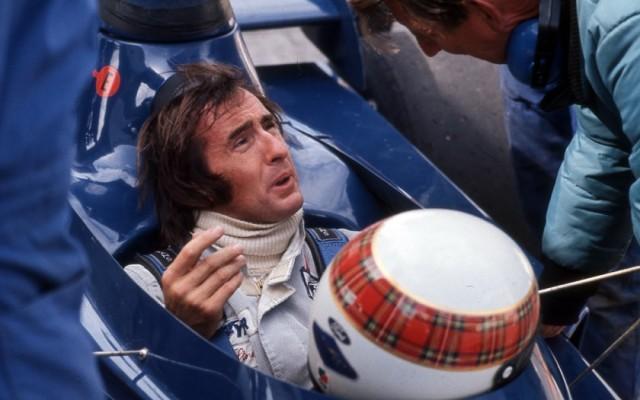Jackie Stewart, Canadian Grand Prix 1972.  [Photo by Jack Webster]