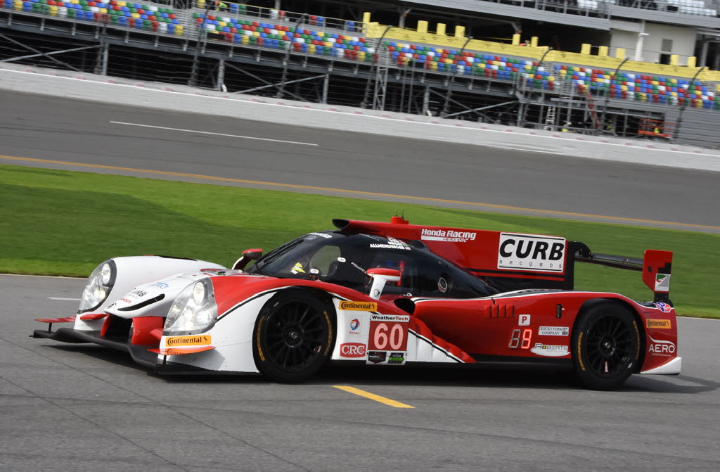 Michael Shank Racing's Honda Ligier topped speed charts in all but two sessions. [Joe Jennings Photo]