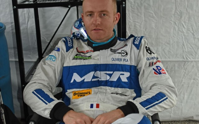 Michael Shank Racing fast driver Olivier Pla.  [Joe Jennings Photo]