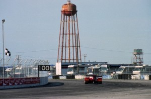 The old water tower at Sebring in 1995. [Photo by Jack Webster]