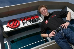 Santino Ferrucci, Haas F1 Team development driver. [photo courtesy Haas F1 Team]