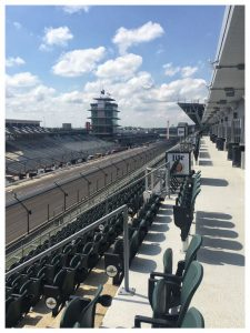 The new Hulman Terrace Club at the Indianapolis Motor Speedway.  [Allan Brewer Photo]