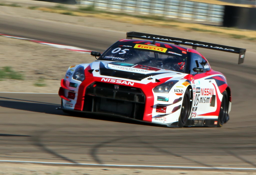 Bryan Heitkotter - Nissan GTR. [Michael Wells Photo]