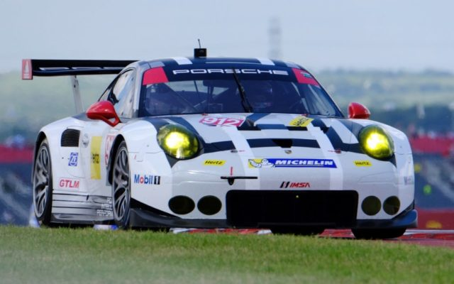 Porsche finished 1-2 in GTLM.  [Photo by Jack Webster]